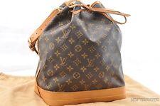 Authentic Louis Vuitton Monogram Noe Shoulder Bag M42224 LV T605