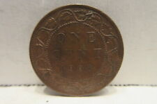 1906 Canada One Cent Coin K8 Canadian Penny Large Cent