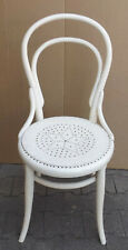 Beautiful White Daemonhunter Thornet Wood Chair - Restoration Object