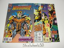 Guy Gardner Warrior #18-21 Comic Lot DC 1994 Emerald Fallout #1-4 19 20 Parallax