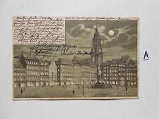 Postkarte Ansichtskarte Sachsen.Dresden Altmarkt
