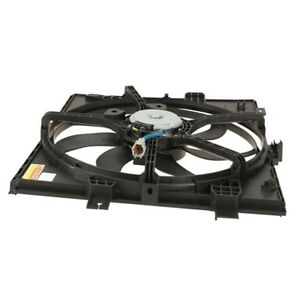 For Dual Radiator and Condenser Fan Assembly TYC 623090 for Nissan Versa Note