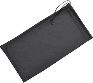 Soft Microfiber Drawstring Glasses Case Cleaning & Storage Pouch, 2 Sizes, 3...