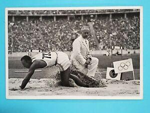1936 Reemtsma Band II Olympia Jesse Owens USA Track #57 🥇