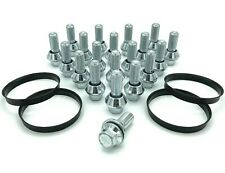 20x M14 x 1.5 Wobble Wheel Variable Bolts, Spigot Rings, BMW to Renault Trafic