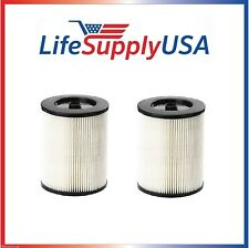 2 Pk - Filter fits Shop Vac Craftsman 17816 Rigid VF4000 Husky 6-9 + all 5+ Gal