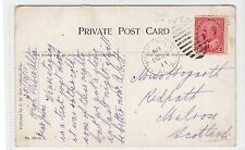 Canadian picture postcard with HIGH RIVER ALTA postmark (C18565)