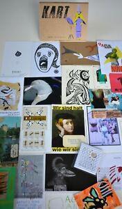 KART 70 (Mail Art, FLUXUS ,Visual Poetry,DADA, Zine in a box)