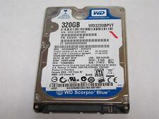 """Western Digital WD Scorpio Blue 320GB 2.5"""" SATA Laptop Hard Drive WD3200BPVT"""