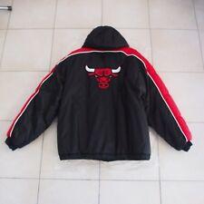 CHICAGO BULLS ORIGINAL VINTAGE 1990s NBA STARTER JACKET SIZE XL