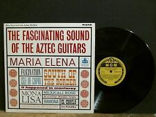 BILLY MURE AND THE AZTEC GUITARS  Fascinating Sounds   LP  Mono   NEAR-MINT !!