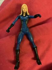 Marvel Legends Fantastic Four Classics Movie Invisible Woman Toybiz Smoke Free!