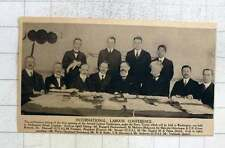 1919 International Labour Conference, Roppard, Mahaim, Shotwell, Stewart, Oka