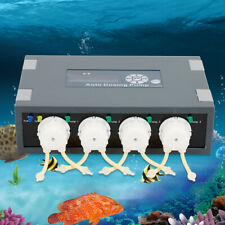 Jebao Marine Aquarium Fish Tank Auto Dosing Pumps - DP-4 Coral Reef Dose Kit New