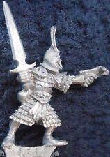 1989 DARK ELF mm70 de 1 Marauder elven army drow WARRIOR WARHAMMER Citadel AD&D