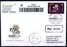 Fußball.EM-2012, Polen-Ukraine.Veranstaltungsemblem.FDC-R.Brief (5).Ukraine 2012