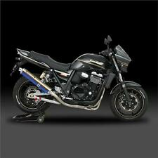 Yoshimura Full Exhaust System Kawasaki ZRX1200 N S R 2008 Titanium Blue Cyclone