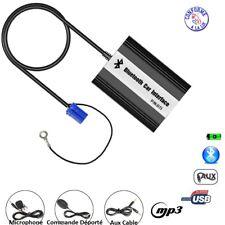 KIT MAINS LIBRE BLUETOOTH MP3 USB AUTORADIO CONCERT AUDI