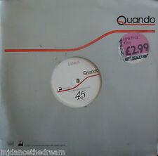 """QUANDO ~ Genius / Rebel ~ 12"""" Single"""