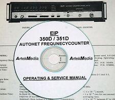 EIP 350D 351D AUTOHET Counter Operator & Service Manual