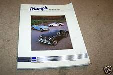 1989 TRIUMPH moss motors CAR PARTS CATALOG