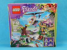 Lego Friends 41036 Jungle Rescue Bridge 365pcs New Sealed 2014