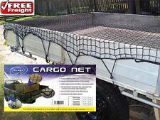 Cargo Net Ute Trailer Truck 1.5m x 2.2m Bungee Cord 35mm Mesh Hooks & Carry Case