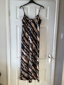 Maxi Slip Dress Primark Size 12