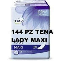 144 Tena Lady Maxi Absorbant Incontinence Urinaire 12 Paquets Jetable
