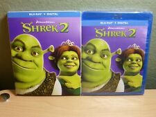 Shrek 2 Blu-Ray + Digital Dreamworks with Slipcase Mike Myers Brand New Sealed