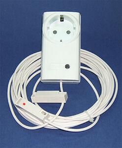 Abluftsteuerung - Fensterkontaktschalter - Kabel mit LED Überwachung