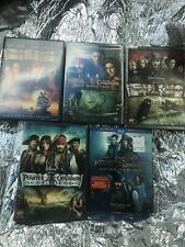 pirates of the caribbean All Films collection