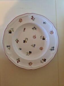 Bx10) Villeroy & Boch Petite Fleur Cereal Pasta Bowl 22.5 cm - (2nds)