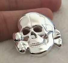 Army Elite Officer Skull Badge METAL corsage brooches pin 3cm&1.18in