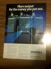 AD page - YAESU FT-703R ,FT203R / KENWOOD TM-2570A Radio Transceiver ADVERTISING