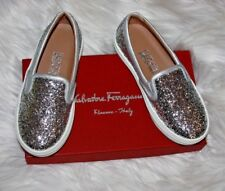 Salvatore Ferragamo Kids Pacau loafers Glitter  euro 29 us 12 us little kids