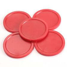 5pcs 2inch/50cm Portable Mini Air Hockey Table Puck  for Children Kids Table