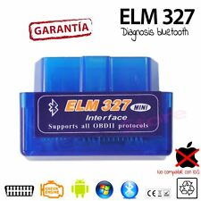 Scaner lector DIAGNOSIS ELM 327 MINI BLUETOOTH OBD2 sin cables android samsung
