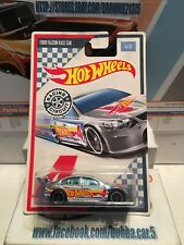 2017 Racing Circuit FORD FALCON RACE CAR #4/10☆silver; mc5☆Hot Wheels WALMART