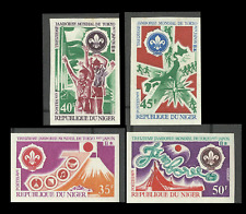 Niger Scoutisme Scouting World Scout Jamboree Mondial Fuji Japon Imperfs ** 1971