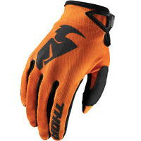 Thor Mx Youth Sector Motocross MX Mtb Bike Off Road Gloves Orange size Small