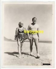 DOROTHEA KEN FRANK JENKS ORIG 8X10 PHOTO BATHING SUIT 1938 YOUTH TAKES A FLING