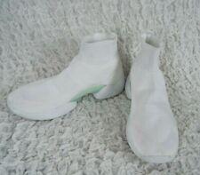 Zara Mens White High Top Men's Sneakers Shoes Size EU 43 US 10