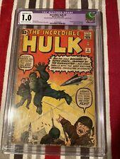 Marvel Comics CGC #1 Incredible Hulk# 3