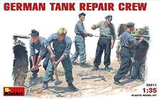 MiniArt Models 1/35 German Tank Repair Crew (5 figures)
