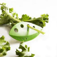 Green Kale Chard Collard Greens Herb Stripper Looseleaf Kitchen Tools US