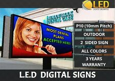 P16 2 Sided 5ft X 15ft Full Color Programmable Led Digital Sign Outdoor Usa