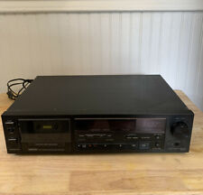Vintage DENON DR-M11 Gray Stereo Cassette Deck Tape Player Tested Excellent