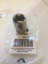 Socket,1/2 In Dr,19mm,6 Pt,Std Westward 5MT 42.         Made For Grainger