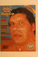 WWF Magazine- Andre The Giant , March 1988
